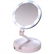 Makeup spejl Foldbart med 10x forstørrelse