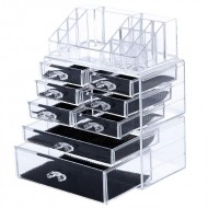 AVERY® Makeup Organizer med 8 skuffer + top