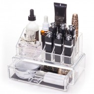 AVERY® Makeup Organizer med skuffe og top