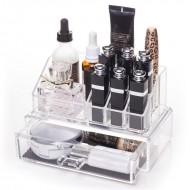 AVERY® Makeup Organizer med skuffe og top