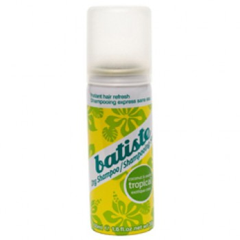 Batiste Dry shampoo Tropical 50 ml.