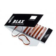 BLAX Snagfree Hår elastik 4 mm Amber Brun