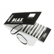 BLAX Snagfree Hår elastik 4 mm Sort