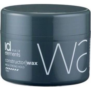 id HAIR Elements Titanium  constructor/wax Mega Strong Hold 100 ml.