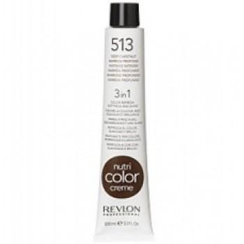 Revlon Nutri Color Creme tube No. 513 Deep chestnut 100 ml.
