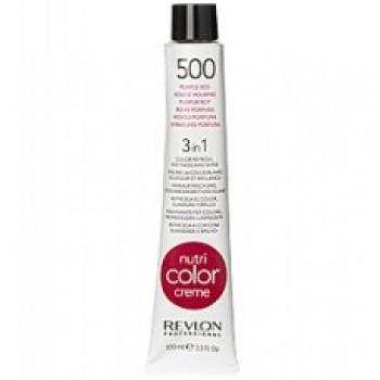 Revlon Nutri Color Creme tube No. 500 Purple red 100 ml.