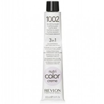 Revlon Nutri Color Creme tube No. 1002 White Platinium 100 ml.