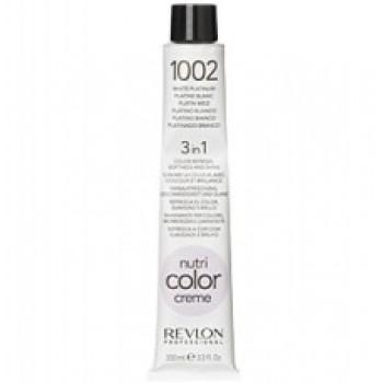 Revlon Nutri Color Creme tube No. 1002 White Platinium 100 ml.