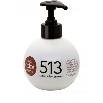 Revlon Farvebombe Nutri Color Creme 513 Deep Chestnut 250 ml.
