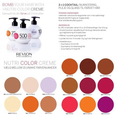 Revlon Farvebombe Nutri Color Creme 513 Deep Chestnut 250