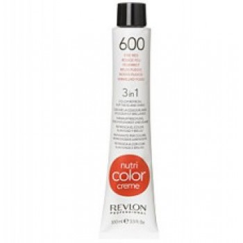 Revlon Nutri Color Creme tube No. 600 Fire red 100 ml.