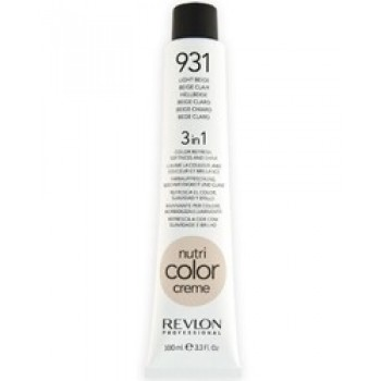 Revlon Nutri Color Creme tube No. 931 Light Beige 100 ml.