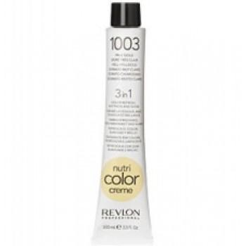 Revlon Nutri Color Creme tube No. 1003  Pale Gold 100 ml.
