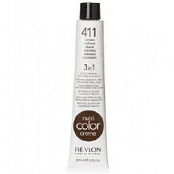 Revlon Nutri Color Creme tube No. 411 Brown 100 ml.