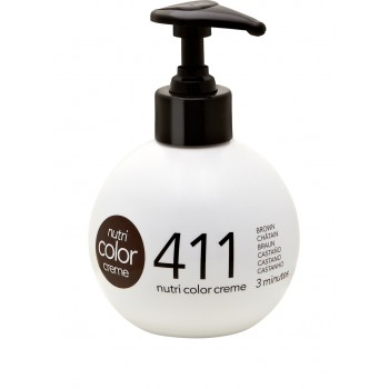Revlon Farvebombe Nutri Color Creme 411 Brown 250 ml.