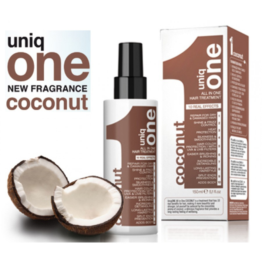 Billedresultat for Uniq One All In One Hair Treatment Coconut