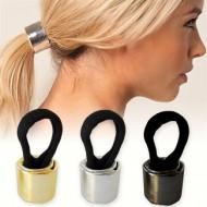 Haircuff - Hårring til hestehale - fl. farver