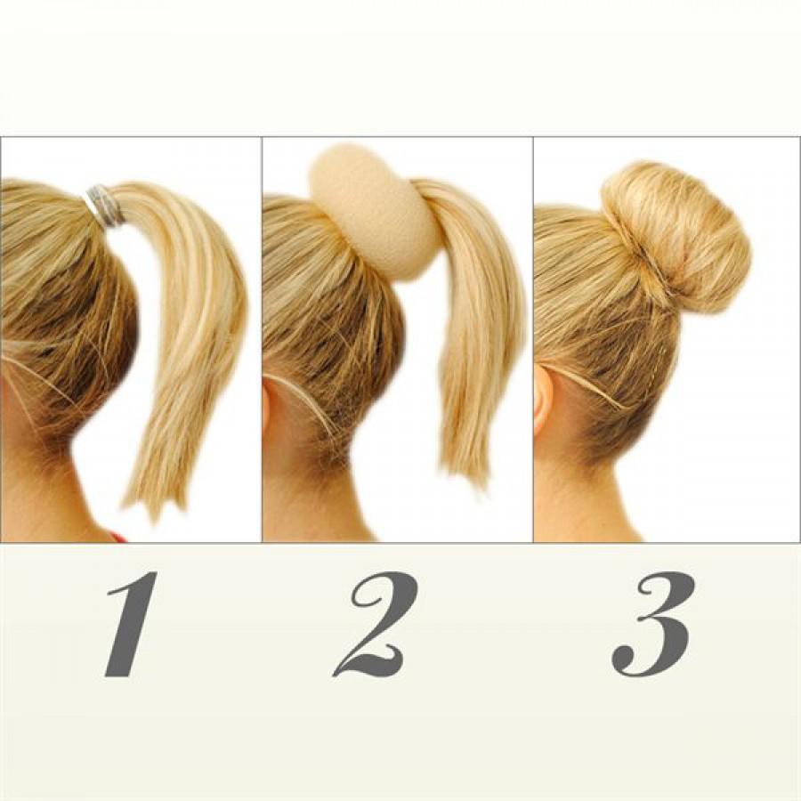 Håret knold i Håropsætning i