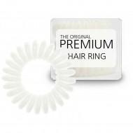 Premium Hårelastik White - 3 stk