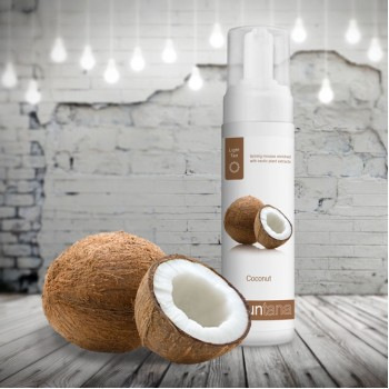 Suntana Spray Tan Coconut Mousse Light Tan 200 ml.
