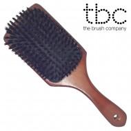 TBC® pladebørste med vildsvinehår - Boar Bristle
