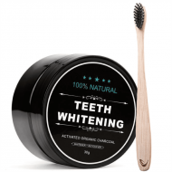 Teeth Whitening - Coco Charcoal teeth whitening powder 30 gram aktivt kul