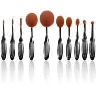 Technique PRO® Makeup Ovalbørster - 10 sæt