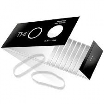 The O Hår elastik Transparent pakke m/ 10 stk