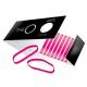 The O Hår elastik Pink pakke m/ 10 stk