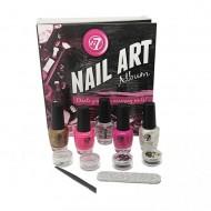 W7 Nail Art Album - Komplet nail art sæt